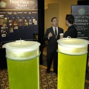 Is algae the answer to greener transport?