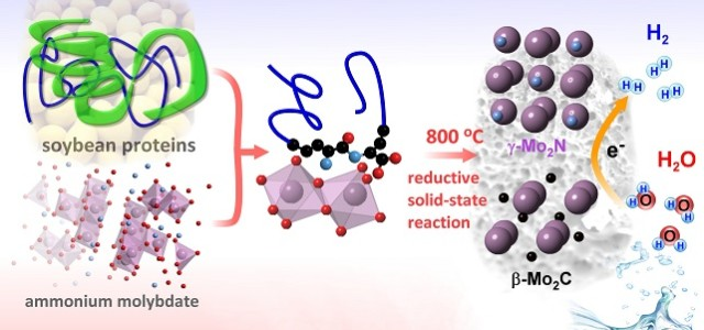 Cheap soy catalyst produces hydrogen fuel